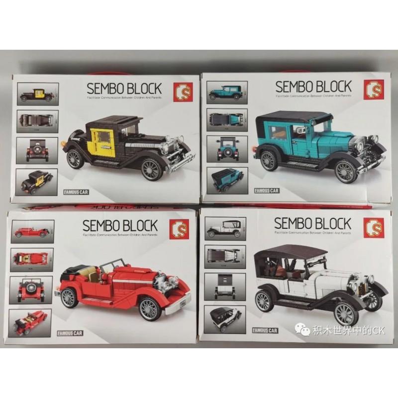 607402 Sembo Block Mercedes-Benz 500K Tourer