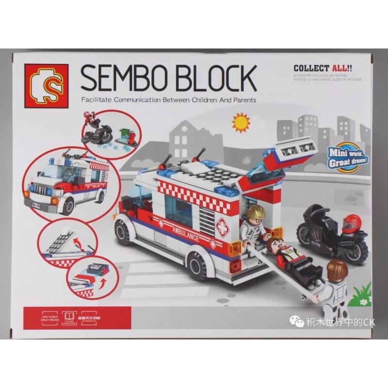 601303 Sembo Block Скорая помощь