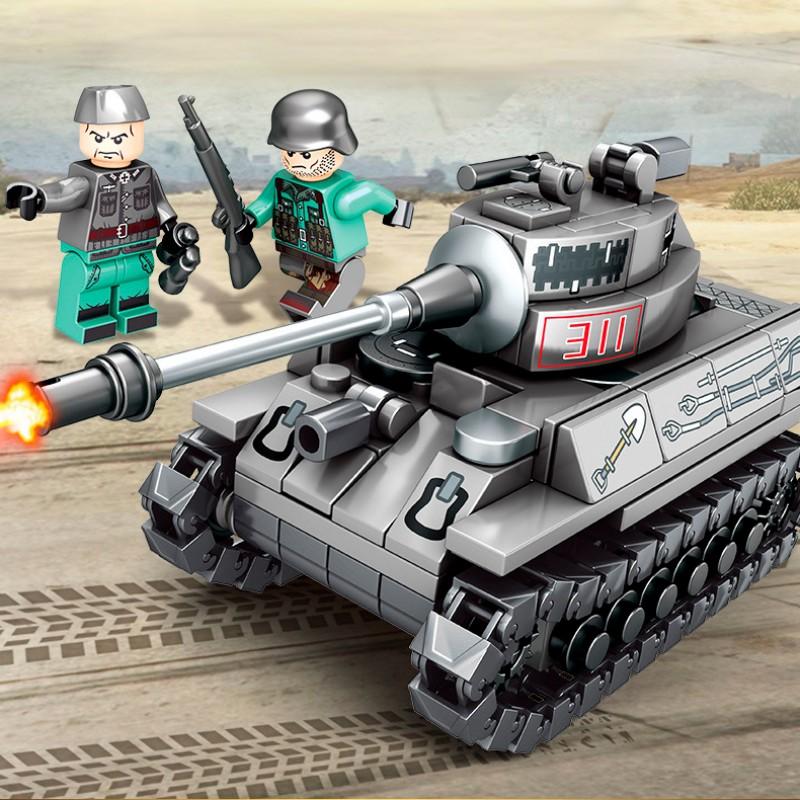 101213-101216 Sembo Block Набор из 4 танков