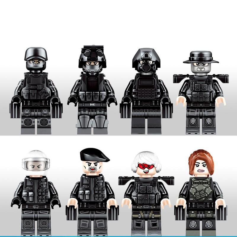 102101-102108 Sembo Block Команда спецназа