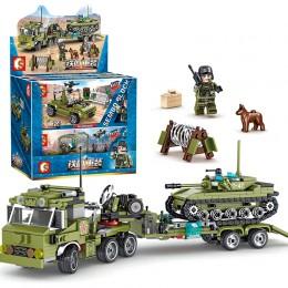 105210-105215 Sembo Block Набор из 6 конструкторов военной техники