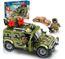 105531 Sembo Block Бронеавтомобиль Тигр с боевым модулем