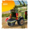 105563 Sembo Block Бронеавтомобиль Dongfeng Warrior и узел связи