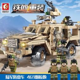 105622 Sembo Block Бронеавтомобиль поддержки пехоты