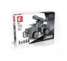 107065 Sembo Block Самоходная артиллерия