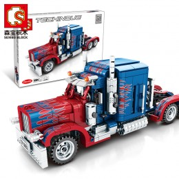 701803 Sembo Blocks Грузовик Peterbilt