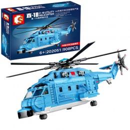 202051 Sembo Block Вертолет ZHI