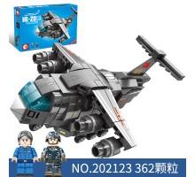 202123 Sembo Block Многоцелевой самолет Y-20