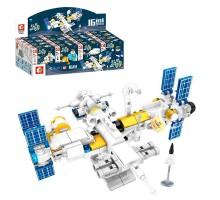 203041-203056 Sembo Block Космическая станция: набор 16 в 1