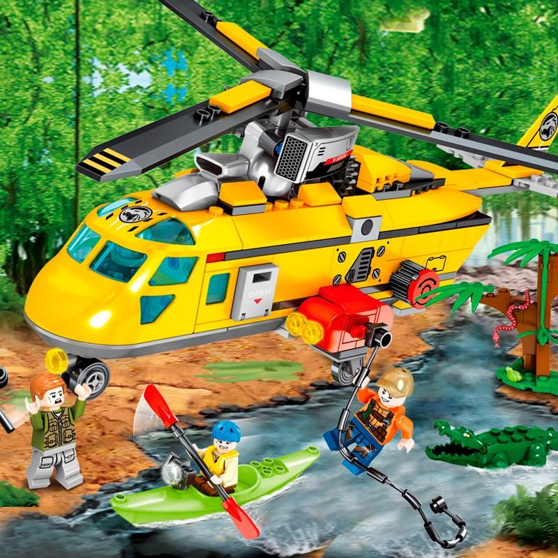 603030 Sembo Block Спасательный вертолет