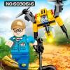 603061 Sembo Block Робот-трансформер (8 в 1)