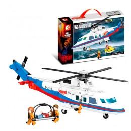 603201 Sembo Block Морская спасательная операция с вертолетом
