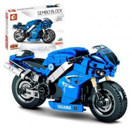 701102 Sembo Block Мотоцикл YAHAMA
