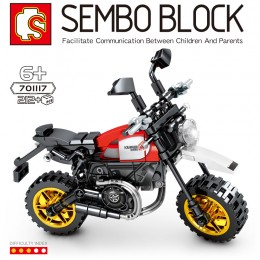 701117 Sembo Block Мотоцикл