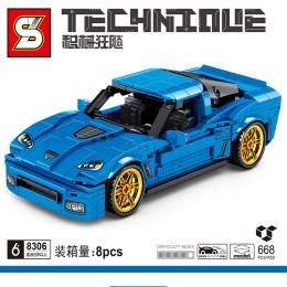 SY8306 SY Corvette Z06 (Pull Back)