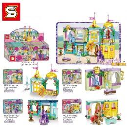 SY1471ABCD SY Мой Маленький Пони: Волшебный Замок 4 в 1