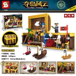 SY1546 SY Остров штормов: пиратский сундук с сокровищами