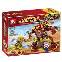 1108 SY The Hulkbuster VS Thanos