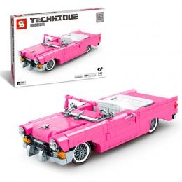 SY8404 SY Розовый ретро-кабриолет Chevrolet