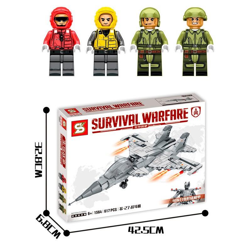 SY1564 SY Истребитель SU-27 — Трансформер