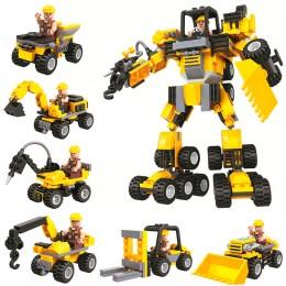 5082 WINNER Трансформер - Команда строителей
