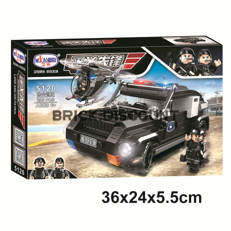 5120 WINNER Сухопутный и воздушный патруль спецназа