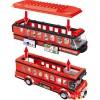 QL0950 ZHEGAO Лондонский двухэтажный автобус Routemaster